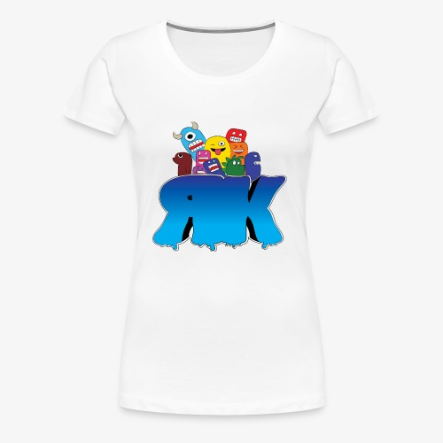 New Retro Kidz Front - Women's Premium T-Shirt