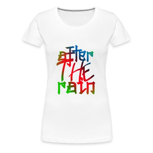 after the rain - Women's Premium T-Shirt