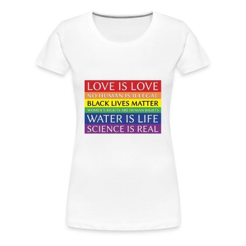 rainbow solidarity - Women's Premium T-Shirt