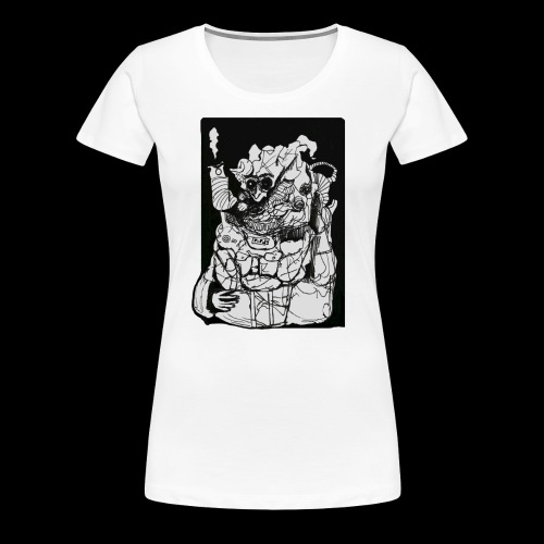 Wanted in Six Systems - Women's Premium T-Shirt