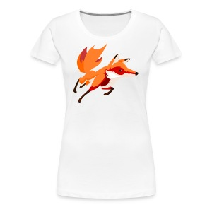 JBFox#2 - Women's Premium T-Shirt
