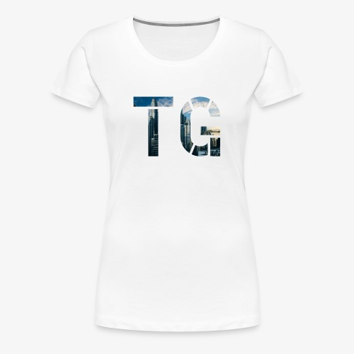 Initials 2 - Women's Premium T-Shirt