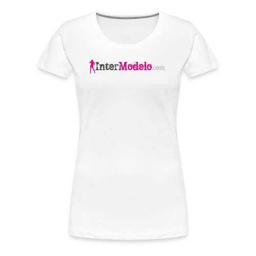 Intermodelo Color Logo - Women's Premium T-Shirt