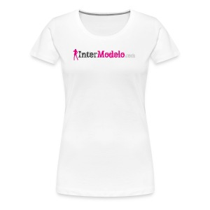 Intermodelo Color Logo - Women's Premium T-Shirt