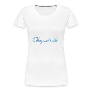 Okay_charlie - Women's Premium T-Shirt