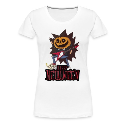 Happy Metalween - Women's Premium T-Shirt