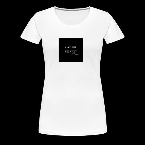 class of 2018 - Women's Premium T-Shirt