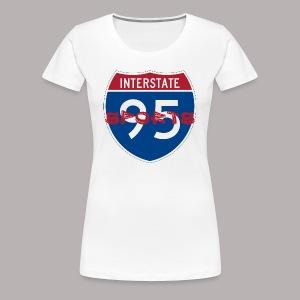 I-95 Sports Podcast Logo - Women's Premium T-Shirt
