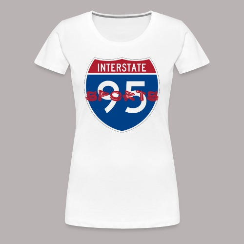 I-95 Sports Podcast Logo - Women's Premium T-Shirt