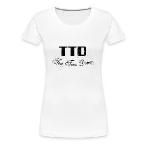 Ten Toes Down - Women's Premium T-Shirt