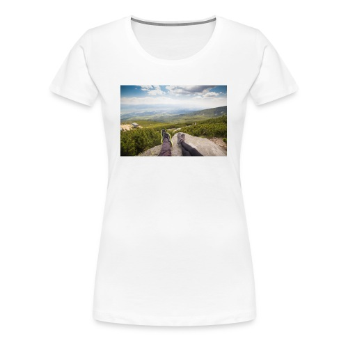 Outdoorsy Life - Women's Premium T-Shirt
