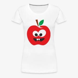 Red apple - Women's Premium T-Shirt
