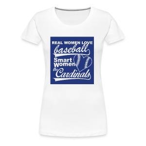 Cardinals baseball - Women's Premium T-Shirt