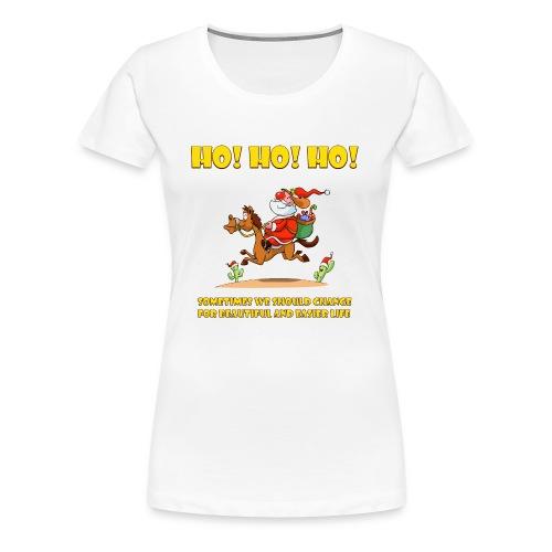 xmas funny tee shirs - Women's Premium T-Shirt