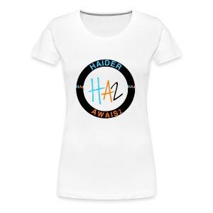 HAIDER Awais Logo - Women's Premium T-Shirt