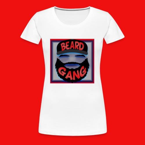 Beard Gang Line - Women's Premium T-Shirt