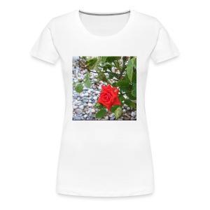 Small Rose - Women's Premium T-Shirt