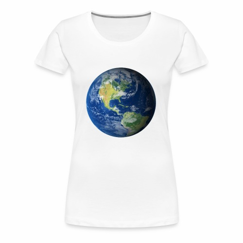 Get On Our Planet Gym Apparel - Women's Premium T-Shirt
