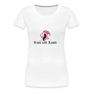 Lion and Lamb - Women's Premium T-Shirt