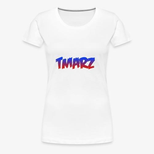 Tmarz Text Design - Women's Premium T-Shirt
