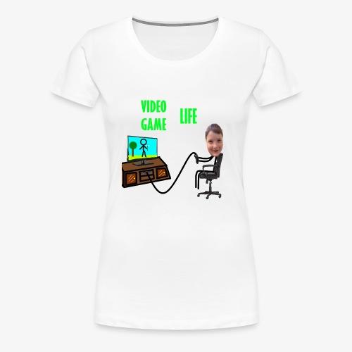VideoGameLife - Women's Premium T-Shirt
