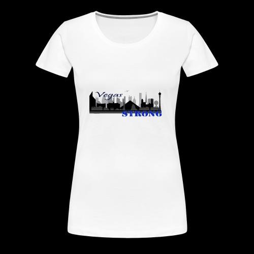 vegasStrong - Women's Premium T-Shirt