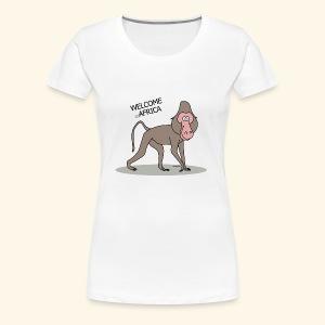 Travel to Africa - Women's Premium T-Shirt