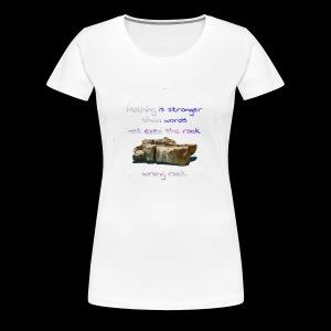 Wrong Rock - Women's Premium T-Shirt