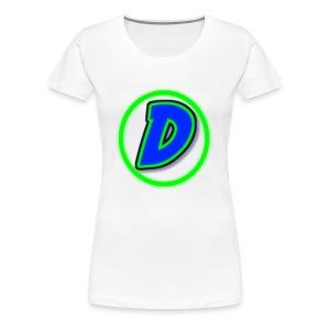 DarkWarriorXD - Women's Premium T-Shirt
