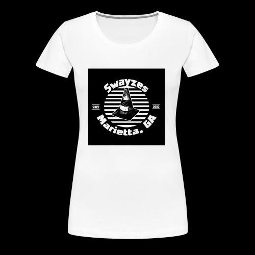 SWAYZE'S VENUE 15TH Anniversary LOGO! - Women's Premium T-Shirt