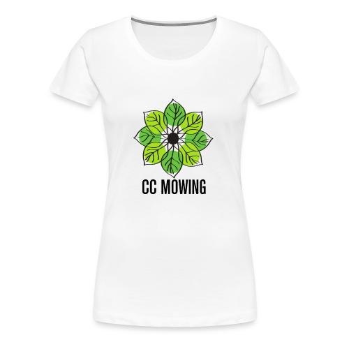 CC Mowing Logo - Women's Premium T-Shirt