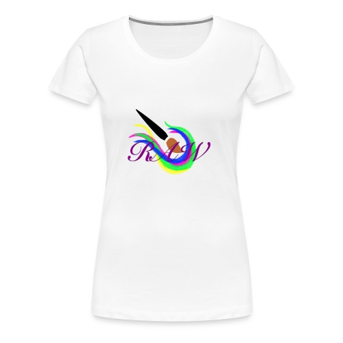 RAW logo - Women's Premium T-Shirt