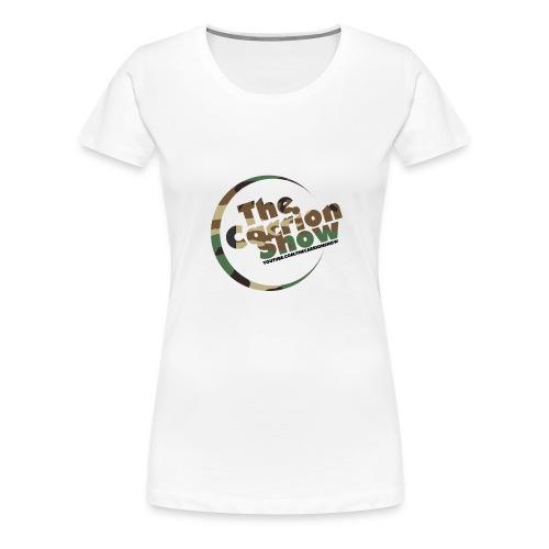 Camo logo Design - Women's Premium T-Shirt