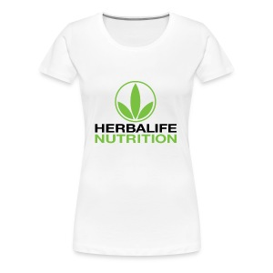 Herbalife Nutrition White Apparel - Women's Premium T-Shirt