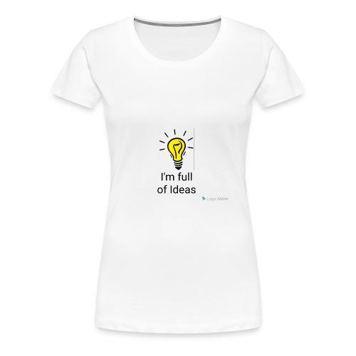 Full of Ideas Apparel - Women's Premium T-Shirt