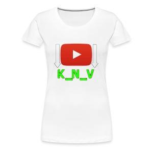 K_N_V 7 - Women's Premium T-Shirt