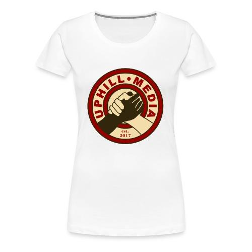 Uphill Media Logo - Women's Premium T-Shirt