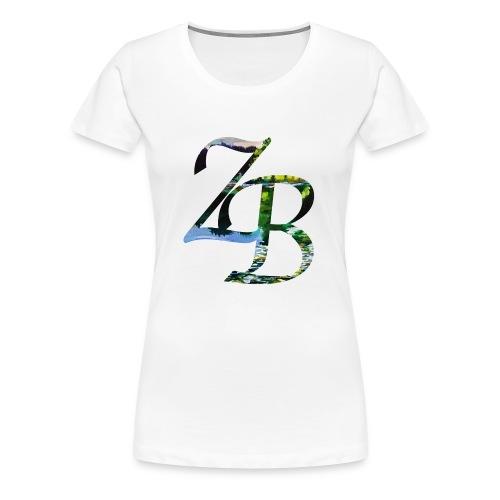 ZBlakeLOGO - Women's Premium T-Shirt