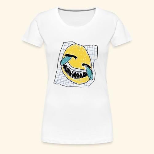 הנייר הזה שעל אלוהים - Women's Premium T-Shirt