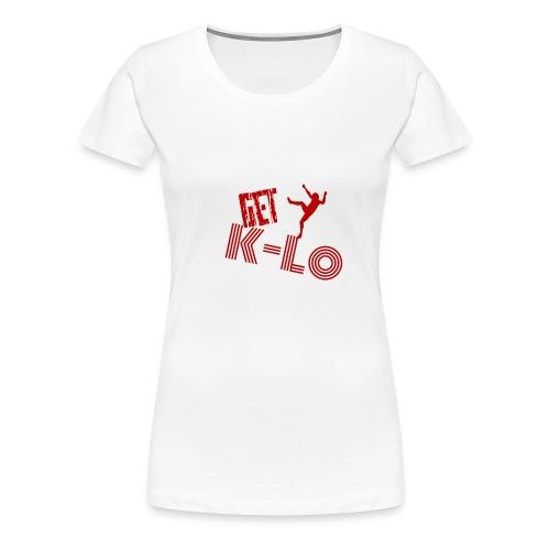 Red k lo - Women's Premium T-Shirt