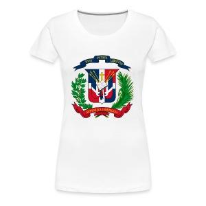 Dominican shield - Women's Premium T-Shirt
