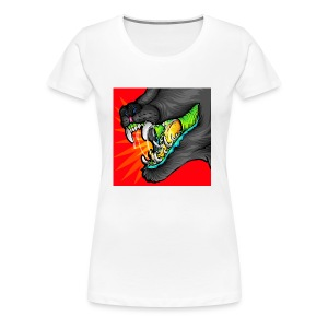 Alexandra Samson Big Mouth - Women's Premium T-Shirt