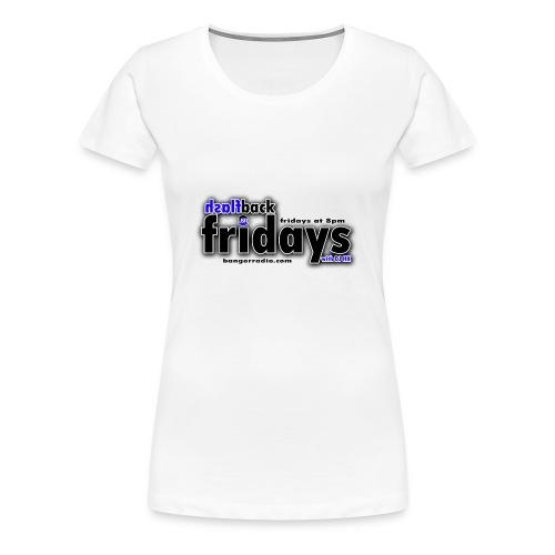 fb fridays logo design - Women's Premium T-Shirt