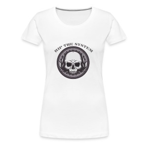 Rip The System - Women's Premium T-Shirt