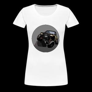 The Jalopy Circle - Women's Premium T-Shirt