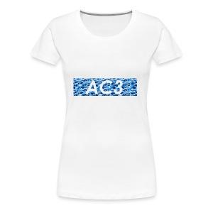 AC3 bape Supreme logo - Women's Premium T-Shirt