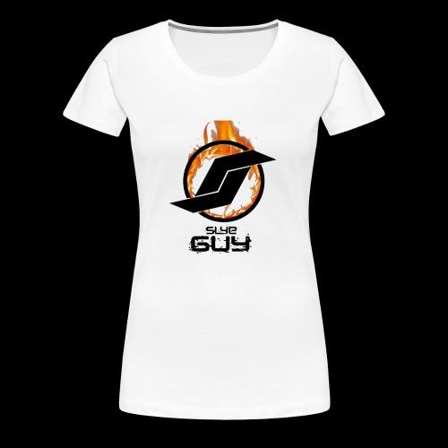 Slye Guy Logo - Women's Premium T-Shirt