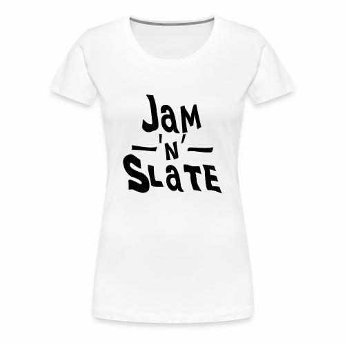 Jam 'n' Slate Logo - Women's Premium T-Shirt
