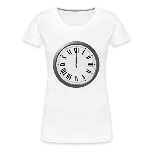 Time Flies When You Watch Team Google Plex - Women's Premium T-Shirt