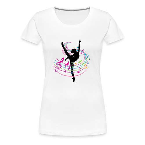Ballet Dancer - Women's Premium T-Shirt
